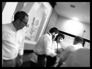 Nacho Unipro, Germán Carrizo y Carito Lourenco en Gastrónoma 2013