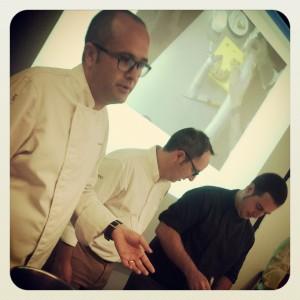 Vicente Patiño, Nacho Unipro y Luis Asensio  en Gastrónoma 2013