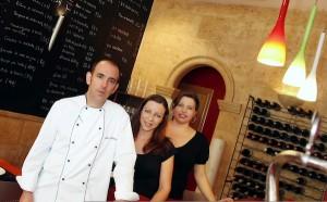Julio, Inés y Empar de Restaurante Ciro