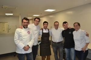 Toni Perez, Miquel Ruiz, Israel, Nacho Unipro, David Ariza y Almudena